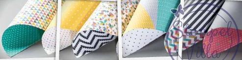 Designerpapier-Kaleidoskop