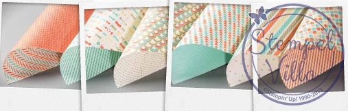 Designerpapier Retro-Spaß