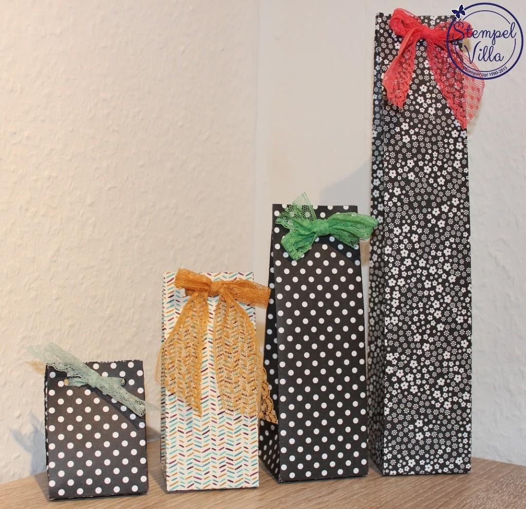 Punch Board für Geschenktüten
