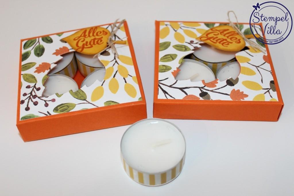 Verpackung für Teelichter