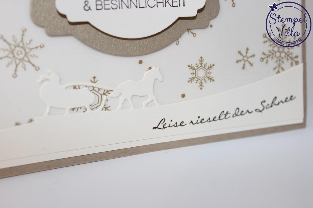 Meine 1. Weihnachtskarte