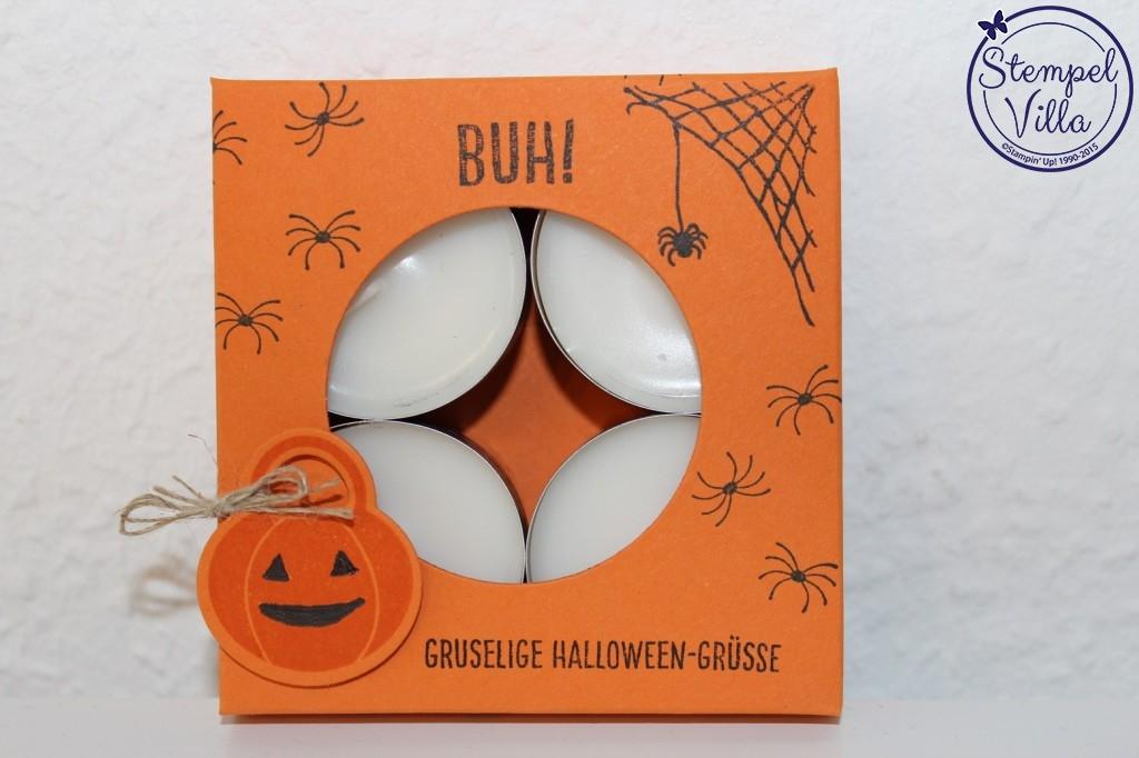 Halloween-Teelichter